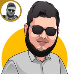 karikatur portrait porträt von foto zeichnen lassen