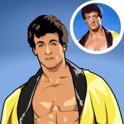 foto zeichnen lassen als cartoon profilbild portrait