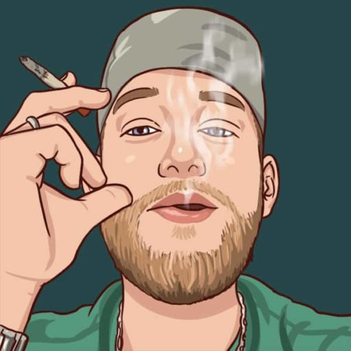 cartoon profilbild portrait