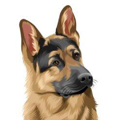hund als cartoon zeichnen lassen